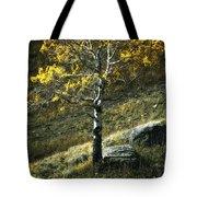 Autumn Glow - Yellowstone Tote Bag