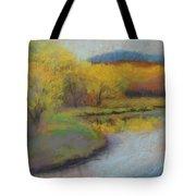 Autumn Glow At Catfish Corner Tote Bag