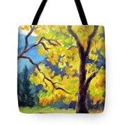Autumn Gold Yosemite Valley Tote Bag