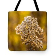 Autumn Goldenrod And A Poser Tote Bag