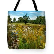 Autumn Golf Tote Bag