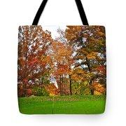 Autumn Golf Tote Bag