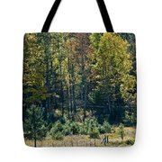 Autumn Grazing Tote Bag