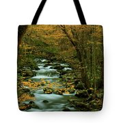 Autumn Greenbriar Cascade Tote Bag