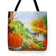 Autumn Harvest Fall Delight Tote Bag