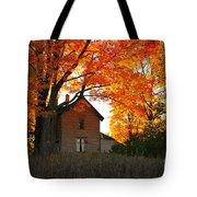 Autumn Haunt Tote Bag