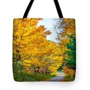 Autumn Hike - Paint Tote Bag