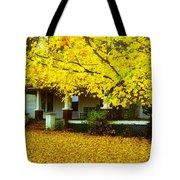 Autumn Homestead Tote Bag