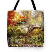 Autumn - House - On The Way To Grandma's House Tote Bag
