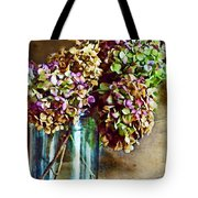 Autumn Hydrangeas Photoart Tote Bag