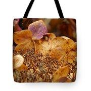 Autumn Hydrangeas V Tote Bag
