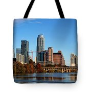 Autumn In Austin Tote Bag