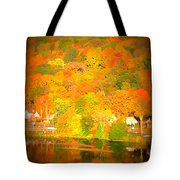 Autumn In Collinsville Connecticut  Tote Bag