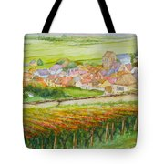 Autumn In Epernay In The Champagne Region Of France Tote Bag