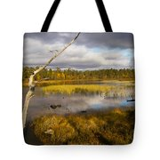 Autumn In Finland Near Inari Tote Bag