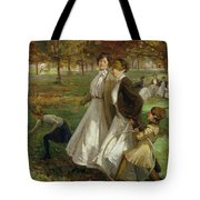 Autumn In Kensington Gardens Tote Bag
