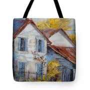 Autumn In La Garde Tote Bag