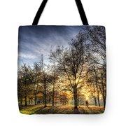 Autumn In London Tote Bag