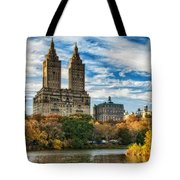 Autumn In New York City Tote Bag