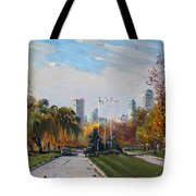 Autumn In Niagara Falls State Park Tote Bag