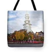 Autumn In Portsmouth Tote Bag