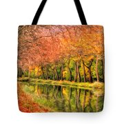 Autumn In Provence Tote Bag