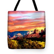 Autumn In Red Rock State Park Tote Bag