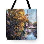 Autumn In Schiedam Tote Bag
