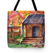Autumn In The Backwoods Tote Bag