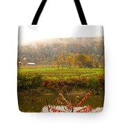 Autumn In The Butternut Valley-six Tote Bag