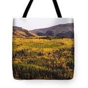 Autumn In The Colorado Mountains Tote Bag
