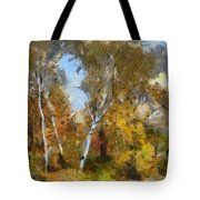 Autumn In The Marshes Tote Bag