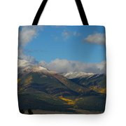 Autumn In The Sangres Tote Bag