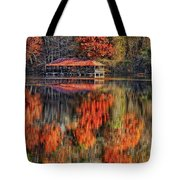Autumn In The Smokey's Tote Bag