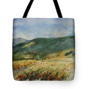 Harvest Time In Napa Valley Tote Bag