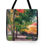 Autumn In Vancouver Washington Tote Bag