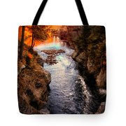 Autumn In West Paris Tote Bag by Bob Orsillo