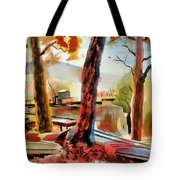 Autumn Jon Boats I Tote Bag