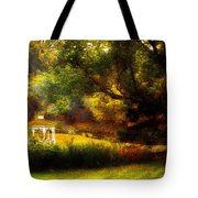 Autumn - Landscape - Past And Present Tote Bag