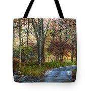 Autumn Lane  Tote Bag