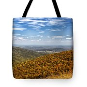 Autumn Layers Tote Bag
