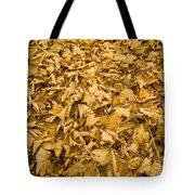 Autumn Leaf Background Tote Bag
