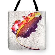 Autumn Leaf On Fire Tote Bag
