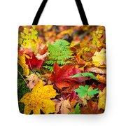Autumn Leaf Salad Tote Bag