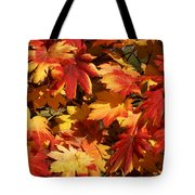 Autumn Leaves 09 Tote Bag