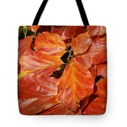 Autumn Leaves 80 Tote Bag