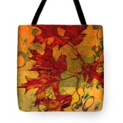 Autumn Leaves Tote Bag by Ann Powell