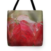 Autumn Leaves Blank Greeting Card Tote Bag