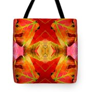 Autumn Leaves Mirrored Tote Bag