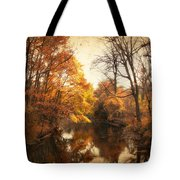 Autumn Lingers Tote Bag